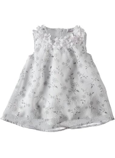 Çiçekli Şifon Elbise-Locopop
